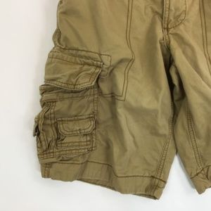 Aeropostale Shorts - Aeropostale Womens 27 Cargo Shorts Solid Brown